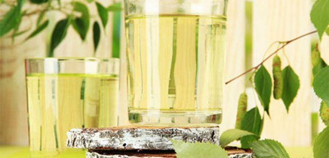 Старовинний рецепт вина з березового соку