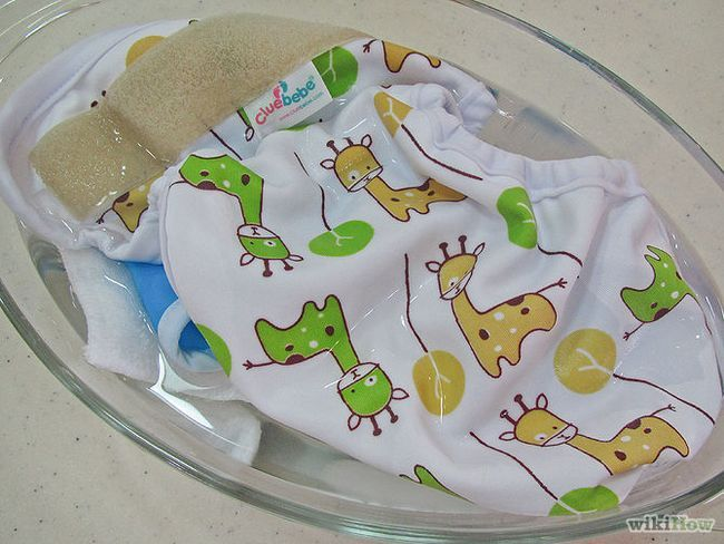 Зображення з назвою Strip Cloth Diapers by Boiling Step 9