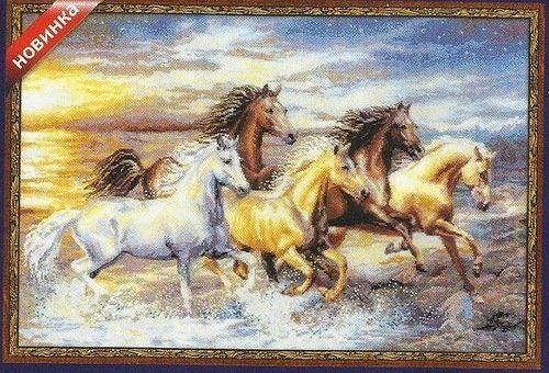 Вишивка хрестом коні: схеми та поради з вишивання